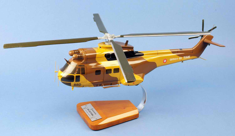 Maquette Hélicoptère Puma SA330 Alat Armée de terre