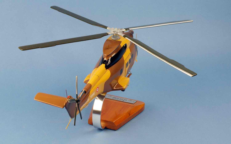 Maquette Hélicoptère Puma SA330 alat