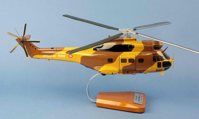 Maquette Hélicoptère PumaSA330