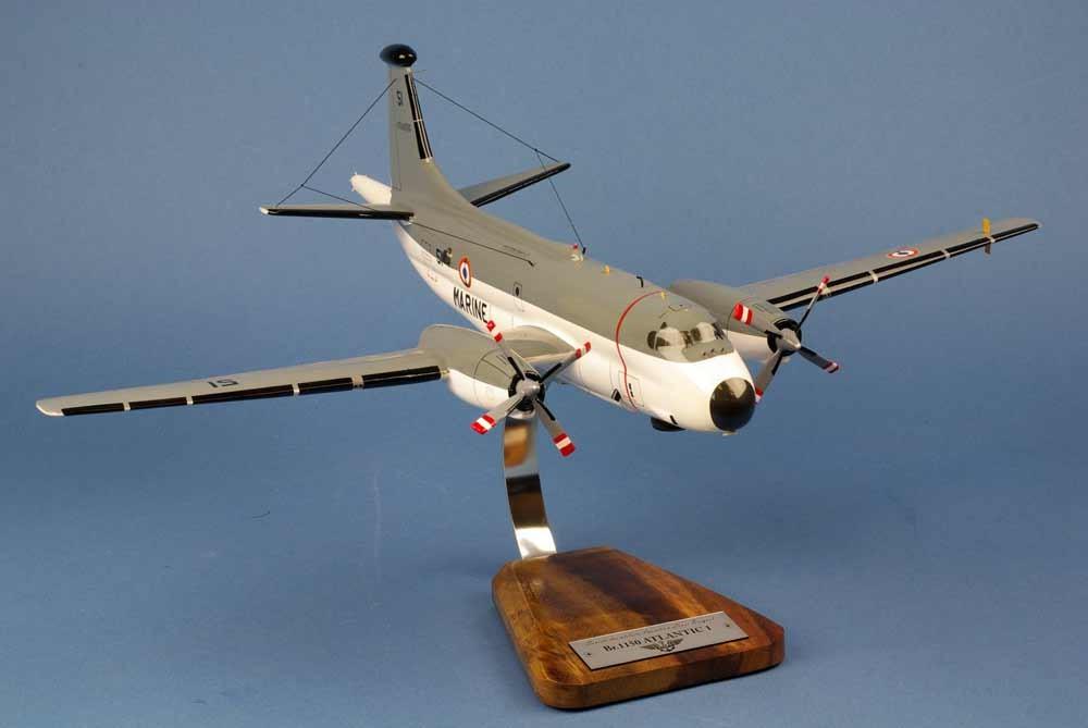 maquette de l'avion Breguet 1150 Atlantic 1 de l'Aéronavale ATL1