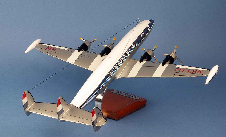 Maquette Avion KLM L1049 Constellation Super G PH-LKK The Flying Dutchman