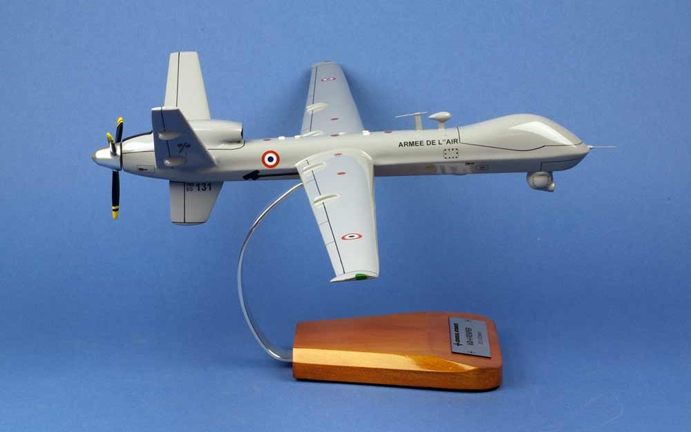 Maquette Drone Reaper MQ-9 1/33 Belfort Armée de l'Air Française
