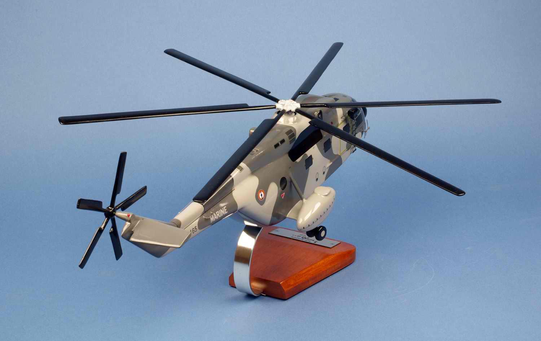 Maquette Hélicoptère SUPER FRELONSA321G Flottille 32F