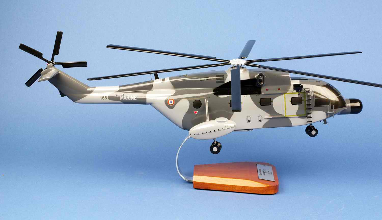 Maquette Hélicoptère SUPERFRELON SA321G Flottille 32F