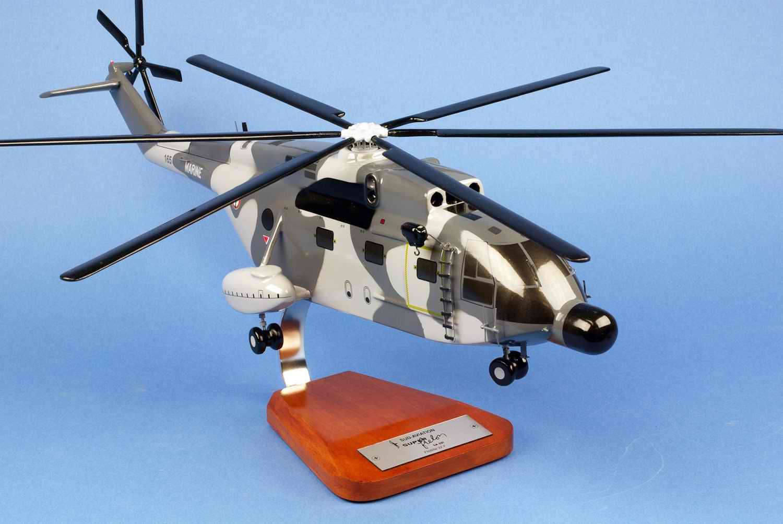 Maquette Hélicoptère SUPER FRELON SA321 Flottille 32F