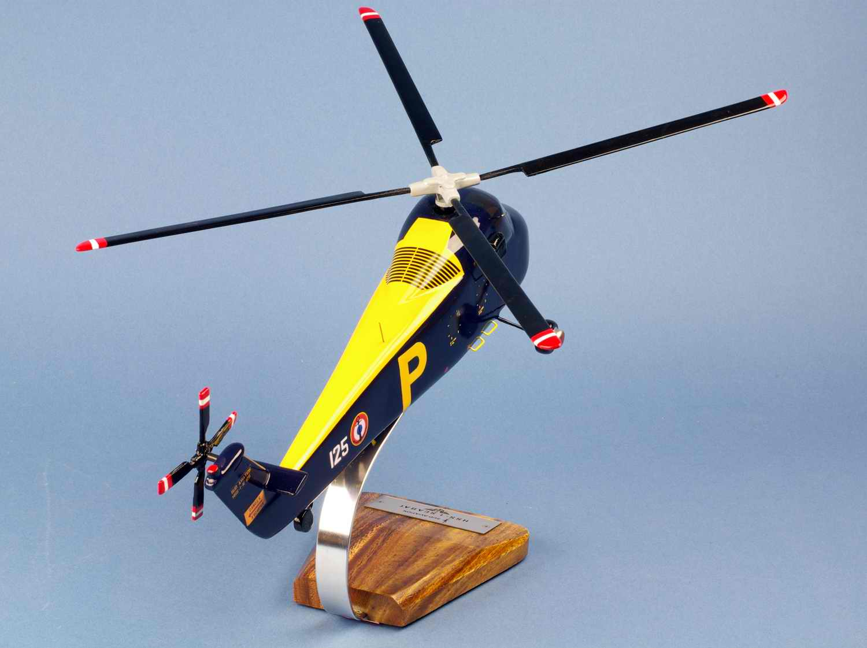 Maquette Hélicoptère SIKORSKY HSS1 Seabat Aéronavale 1/40