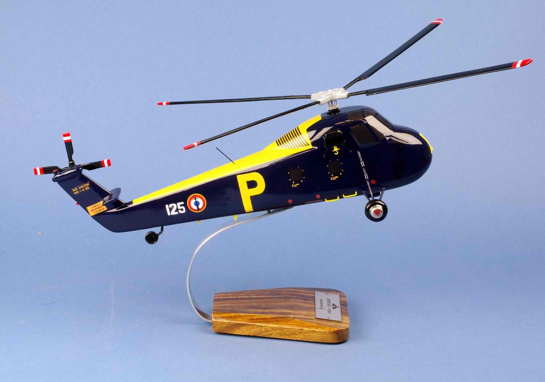 Maquette Hélicoptère SIKORSKY HSS-1 Seabat Aéronavale 1/40