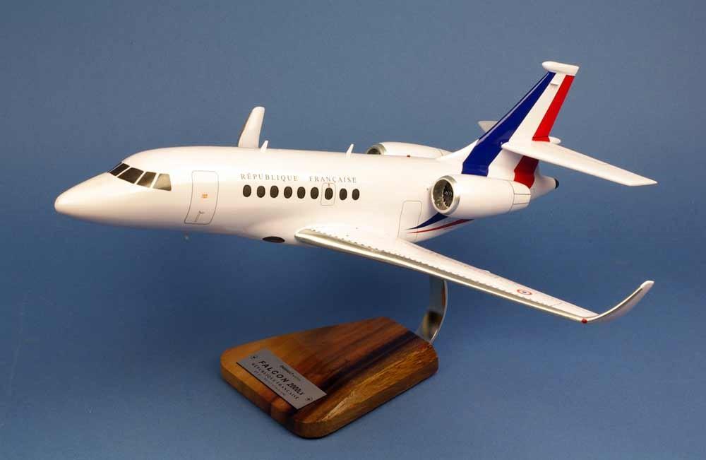 Maquette Falcon 2000LX République Française FRANCE  1/48