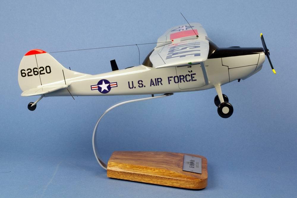 Maquette avion observation CESSNA L-19/O-1 Bird Dog US AIR FORCE l'Eclaireur 1/24