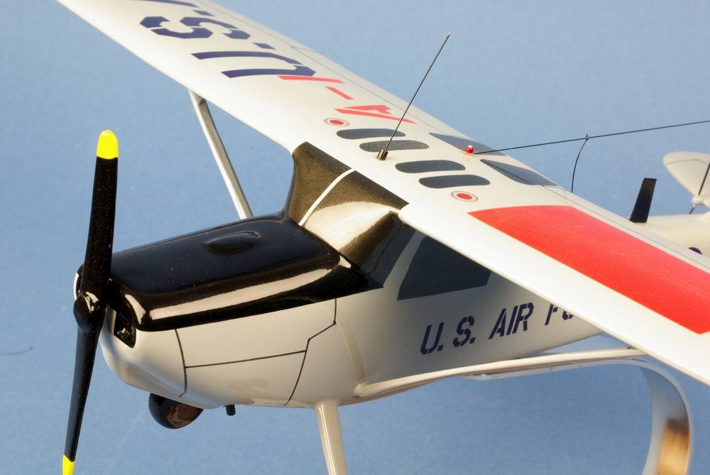 Maquette CESSNA L-19/O-1 Bird Dog US AIR FORCE l'Eclaireur 1/24