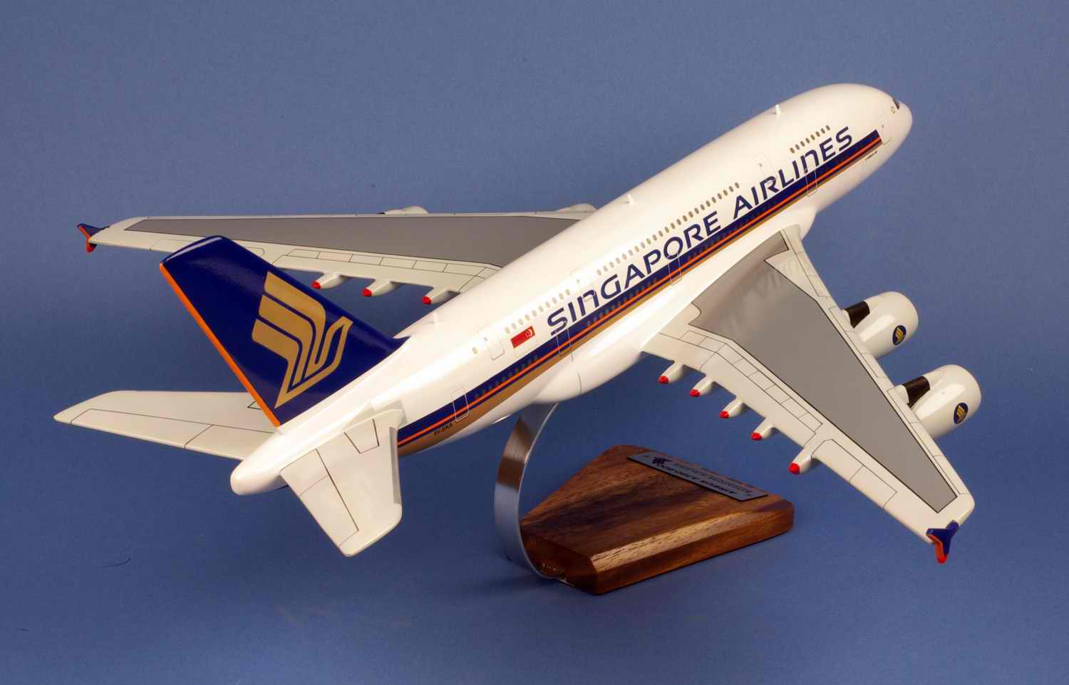Maquette avion Airbus A380-800 Singapore Airlines
