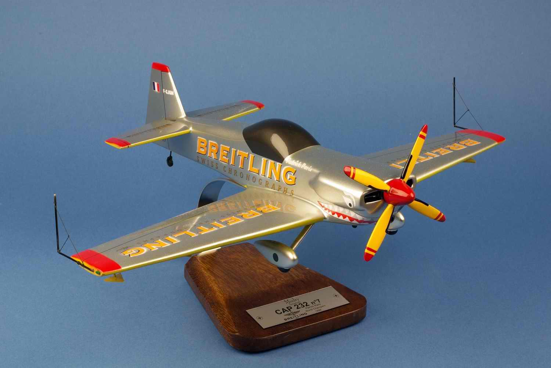Maquette Avion CAP 232 BREITLING Silver Shark Patrick Paris au 1/20