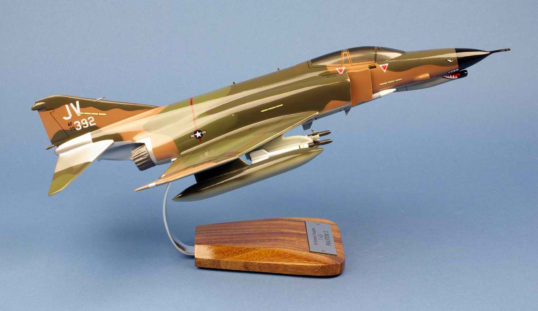 Maquette Avion de Chasse F4E Phantom II 34TFS/388TFW USAF