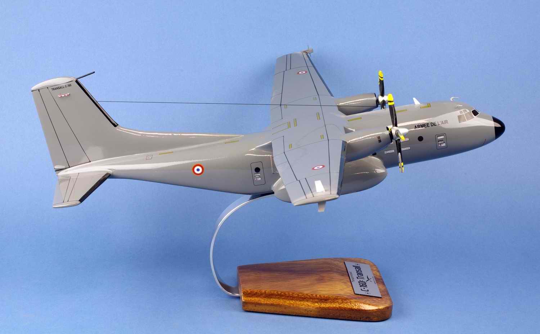 Maquette avion Hercules C160F cargo Transall