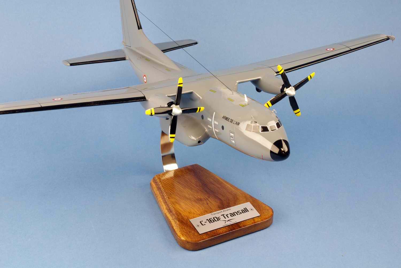 Maquette avion Transport C160F Transall