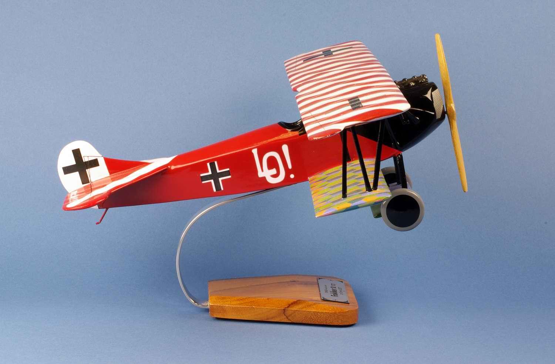 Maquette FOKKER D7 aux couleurs du Lieutenant Ulrich Neckel 1/24