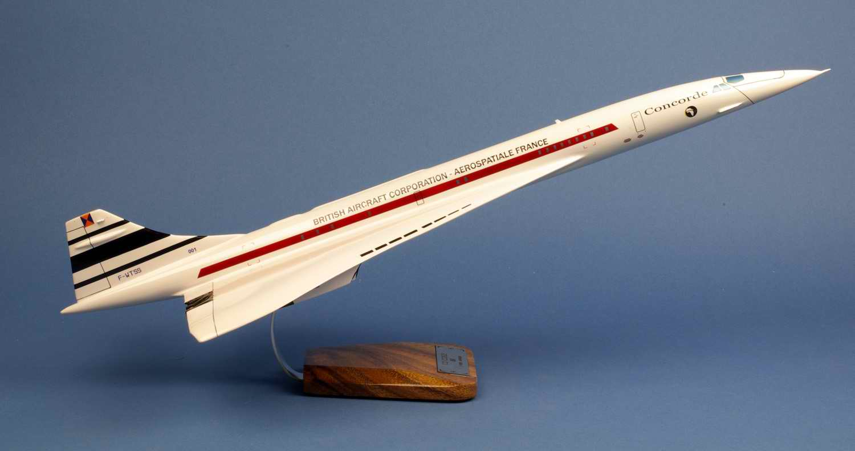 Maquette Avion Supersonique Concorde 001 F-WTSS