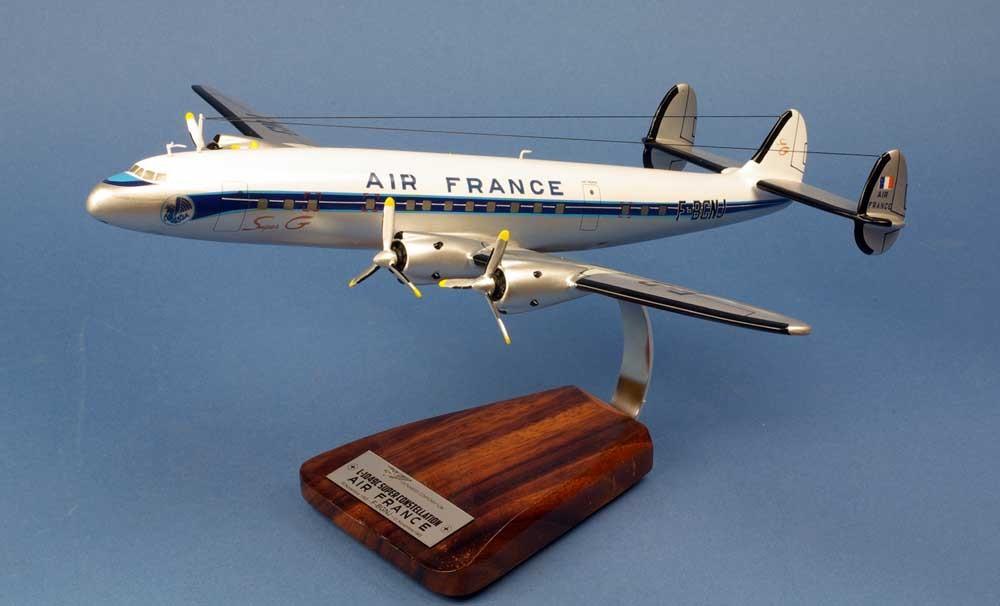 maquette Super Constellation Lockheed 1049C F-BGNJ AIR FRANCE 1/72