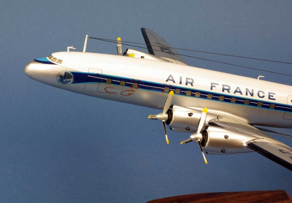maquette Super Constellation Lockheed 1049C AIR FRANCE 1/96