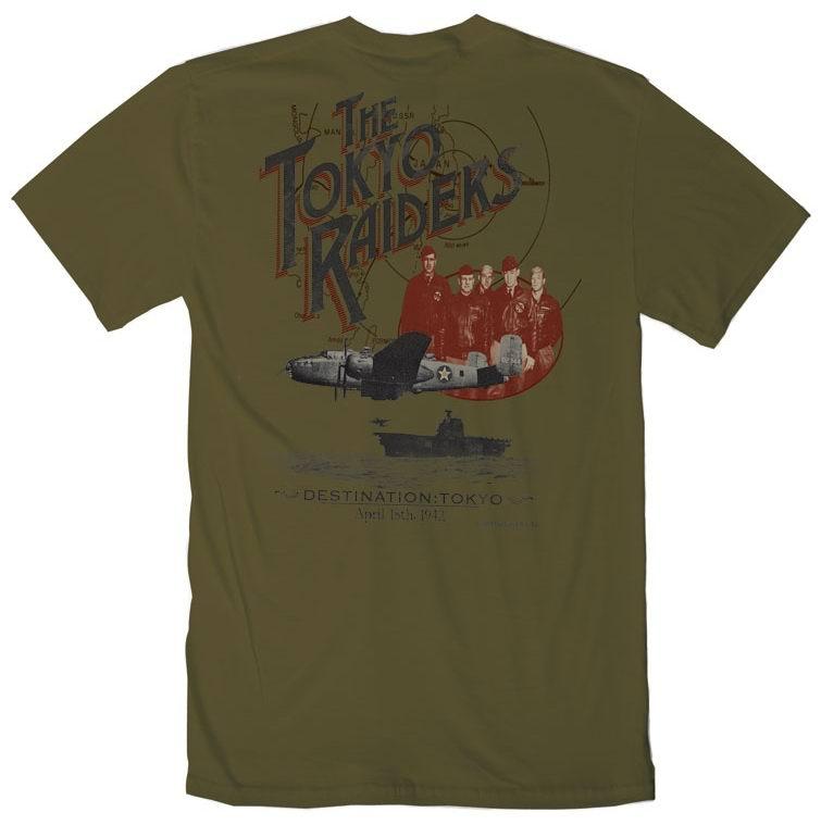 T-Shirt THE TOKYO RAIDERS COCKPIT - AVIREX