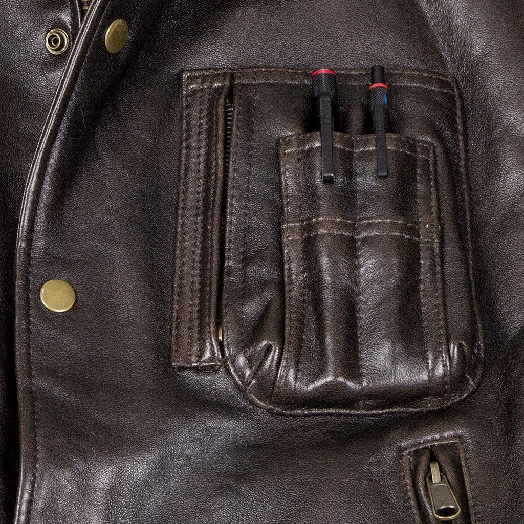 Blouson en cuir sans manche COCKPIT - AVIREX