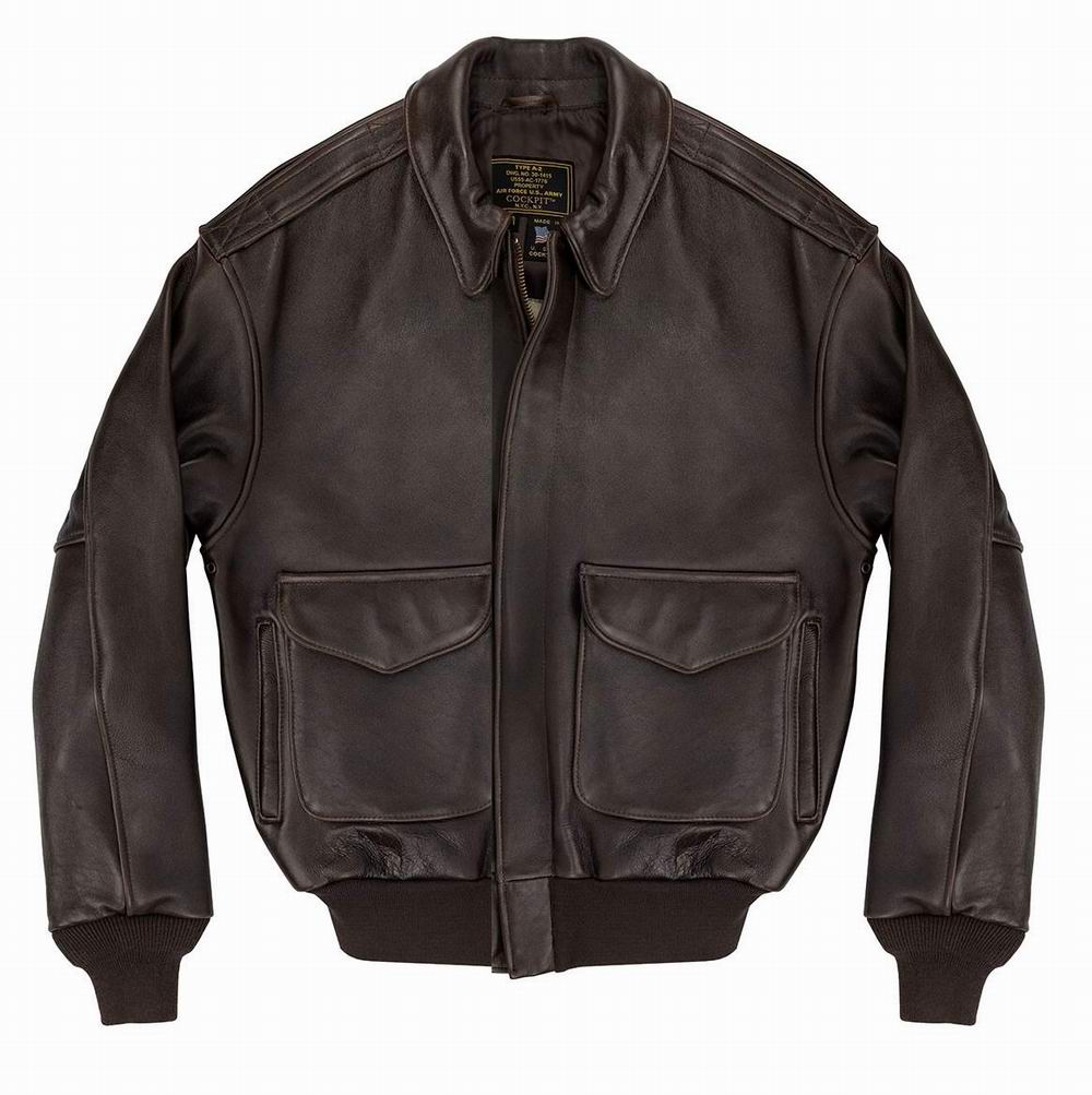 blouson A2 cuir Remember Pearl Harbor