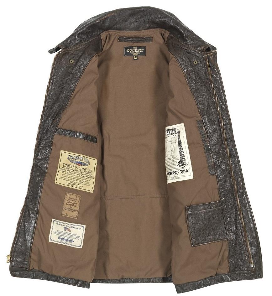 Vintage Roughneck Oil Driller Jacket COCKPIT - AVIREX