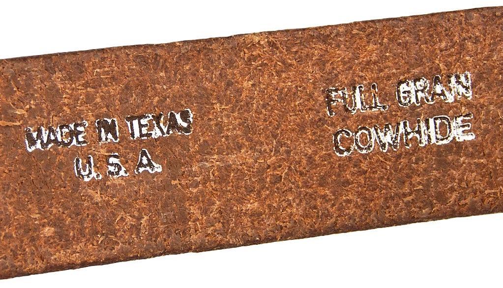 Ceinture en cuir RAF Made in USA COCKPIT USA Ex AVIREX