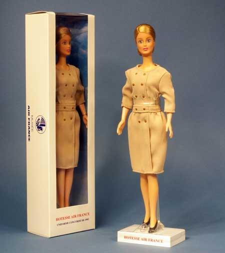 Poupée Hôtesse de l'air Concorde AIR FRANCE