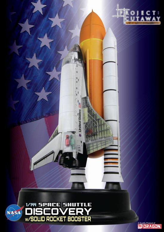 Maquette de la Navette Spatiale DISCOVERY transparent NASA