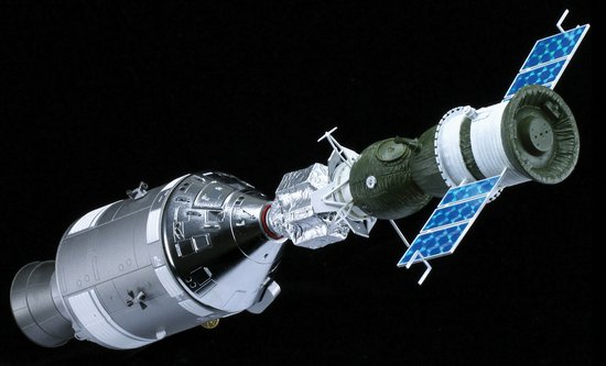 Maquette Apollo 18 Soyouz 19 7K-TM Test Project 1/72 Dragon ASTP (Apollo-Soyuz Test Project)