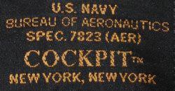 étiquette Blouson B-3 Pearl Harbor