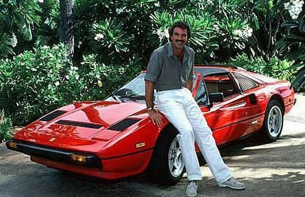 Ferrari 308 GTS Magnum Tom Selleck