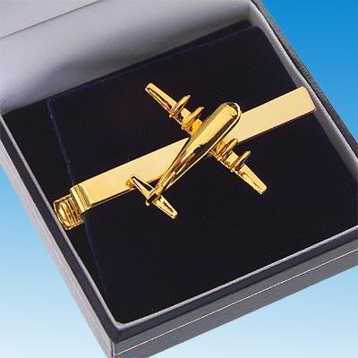 Pince à cravate Boeing 377 Super Guppy dorée