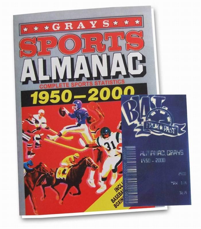 Almanach des Sports Grays 1950-2000 Retour vers le Futur II