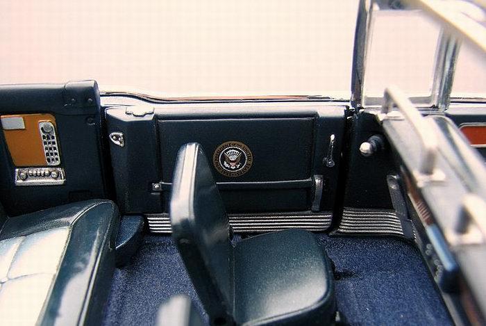 Lincoln X 100 de 1961 Voiture Présidentielle JFK Kennedy 1/24