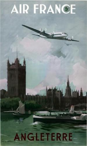 Air France Angleterre Guerra 1951