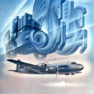 Air France 20Expediez vos colis par 20Avion Ponty 1949
