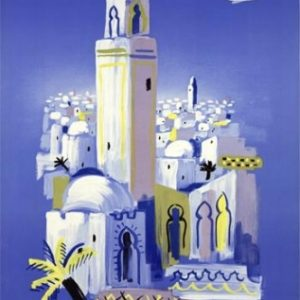 Air France Afrique du Nord Villemot 1948