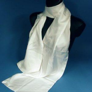 Capachat Foulard soie blanche