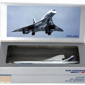 Concorde air france f btsd metal 1 400d