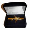 Cravate A320 gold
