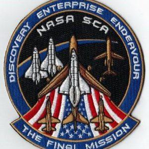 Final Mission Patch
