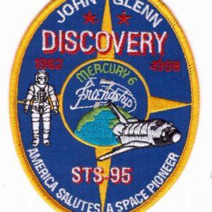 J.Glenn Discovery patch