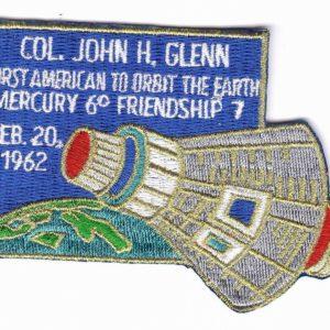 J.Glenn Friendship7 Patch