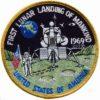 Patch 1ST Lunar Landing