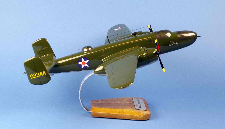 Maquette Avion Bombardier North American B25b Mitchell Tokyo Raid Doolittle 1/42