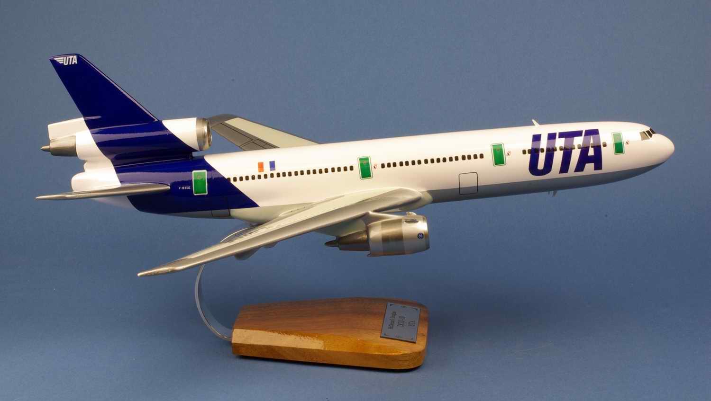 Maquette avion Douglas DC10-30 UTA
