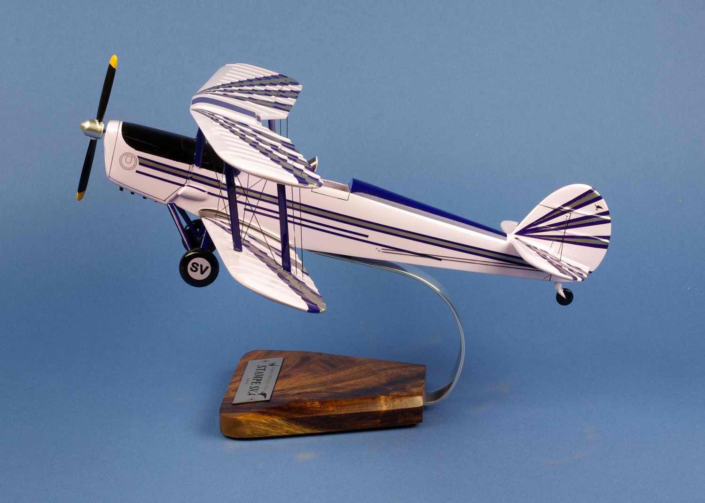 maquette de l'avion Stampe SV-4A