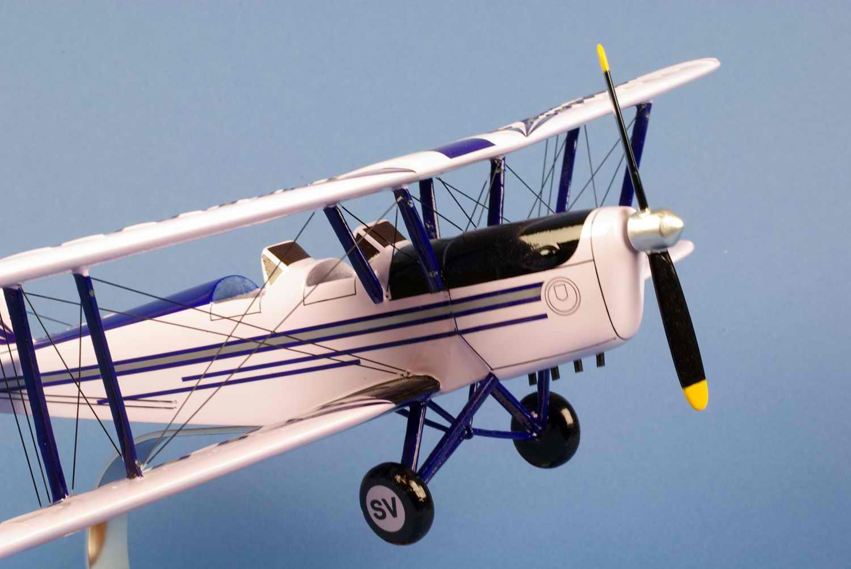 maquette de l'avion Stampe SV4A
